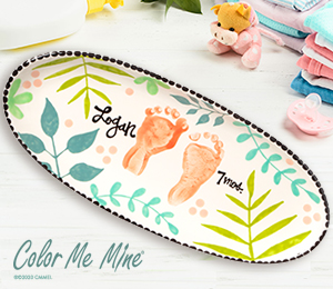 Upper West Side New York Tropical Baby Tray