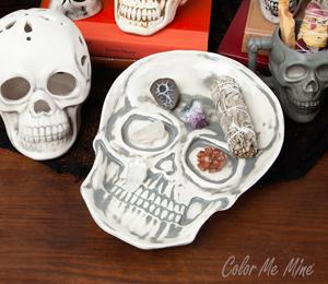 Upper West Side New York Vintage Skull Plate