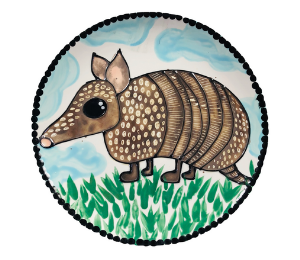 Upper West Side New York Armadillo Plate