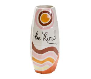 Upper West Side New York Be Kind Vase