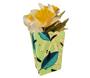 Upper West Side New York Leafy Vase