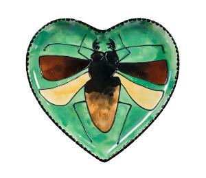 Upper West Side New York Titan Beetle Plate