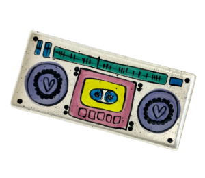 Upper West Side New York Boombox Tray