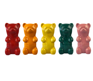 Upper West Side New York Gummy Bear Bank