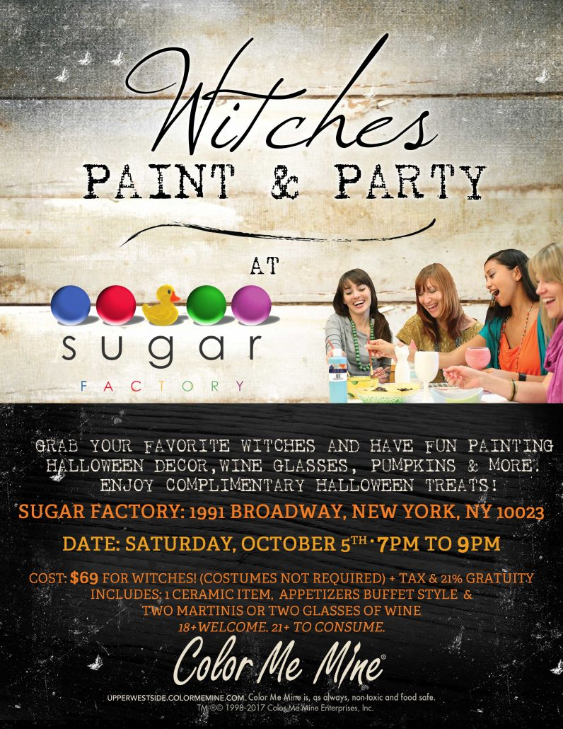 Witches Paint & Party